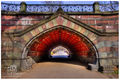 Arch of the Tiles print