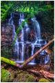 Wailoa Cascades print