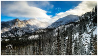rocky mountain, national park, estes, colorado, continental, divide, mountain, intense, peaks, lakes, beauty, dusted, magnificent
