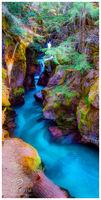 aqua, currents, glacial silt, glacial, National Park, stream