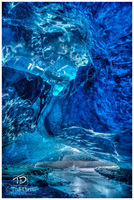 crystal cave, iceland, ice, ice cave, natural bridge, roof, sun, ocean, elucidation, beauty, Vatnaj