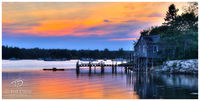 sunset, new england, harbor, coastal, lake, river, pond, ocean, serenity, pier