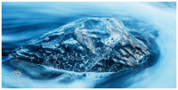 iceberg, black, ice, beach, iceland, sun set, glow, atlantic, beauty, reflective, jewel