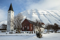 church, holar, iclenad, fjords, catholic, valley, peaks, snow, ponies, town