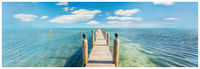 florida, keys, serenity, turquoise, water, jetty, boat, sun, water, docks, boats, maine, sky, clouds, beauty