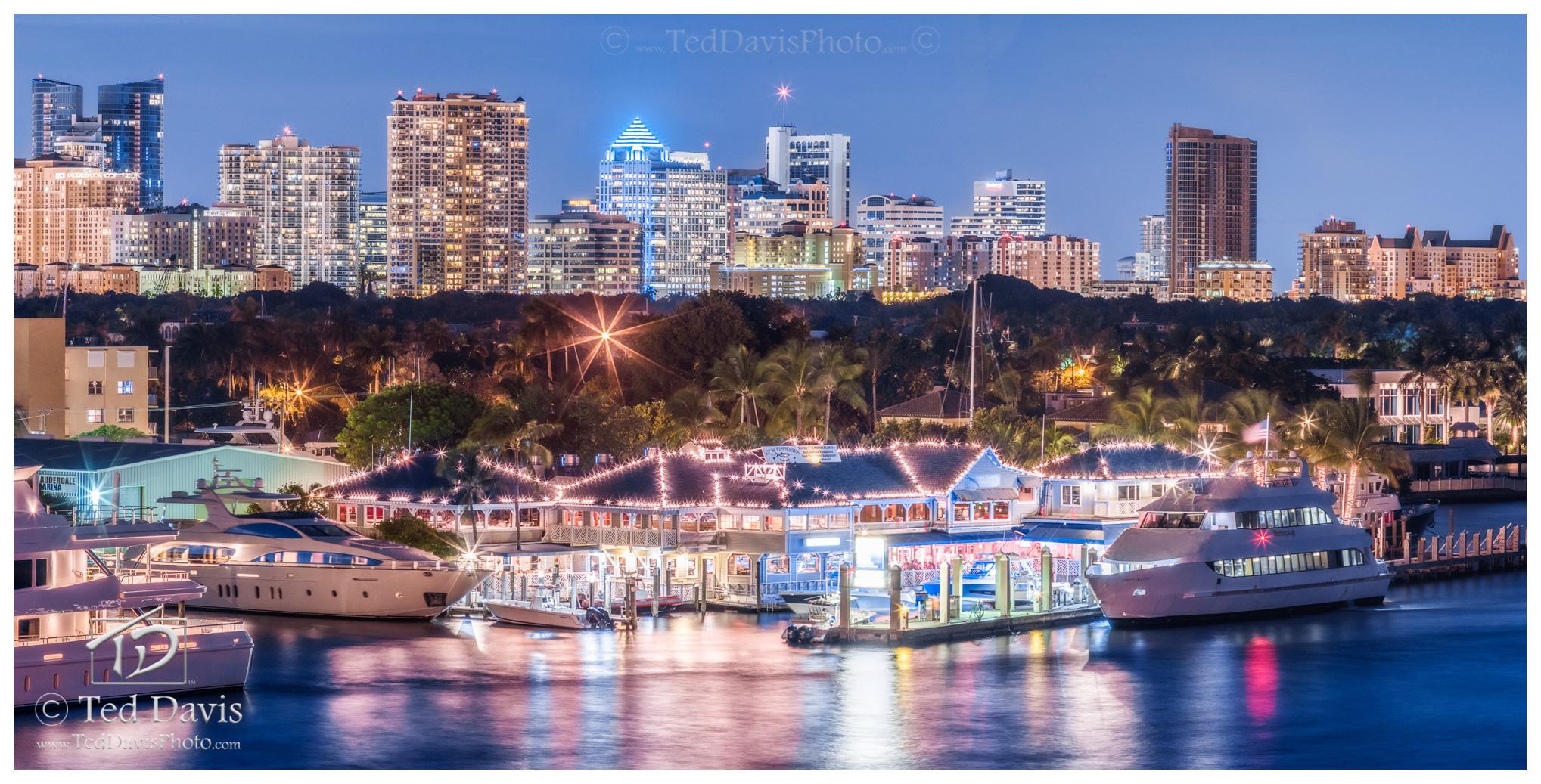 photograph, art, landscape, travel, sunset, night, sky, skyline, fish, boats, florida, coast, port, photo