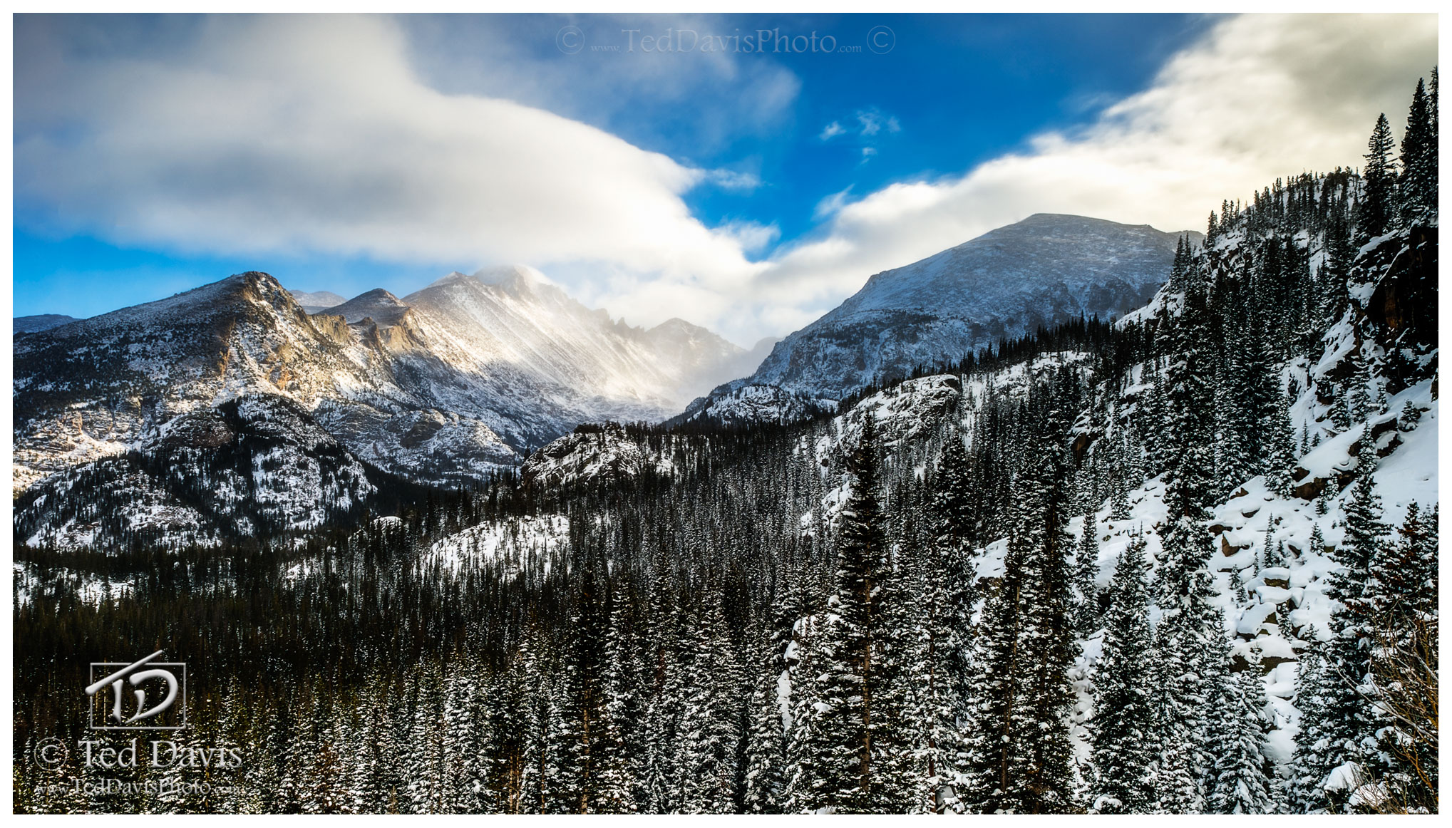 rocky mountain, national park, estes, colorado, continental, divide, mountain, intense, peaks, lakes, beauty, dusted, magnificent, photo