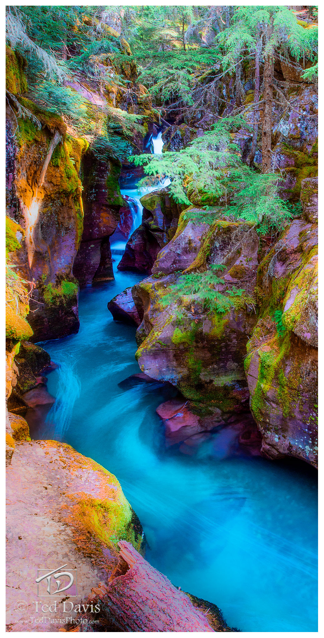 aqua, currents, glacial silt, glacial, National Park, stream, photo