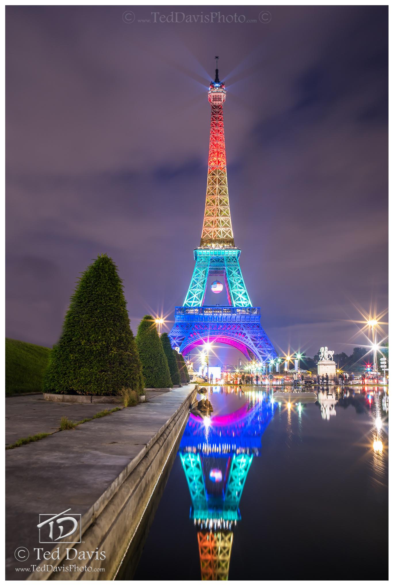 Paris, France, Florida, Orlando, LGBT, donated. OneOrlandoFund, photography, kinship, Eiffel, Tower, Pride, photo