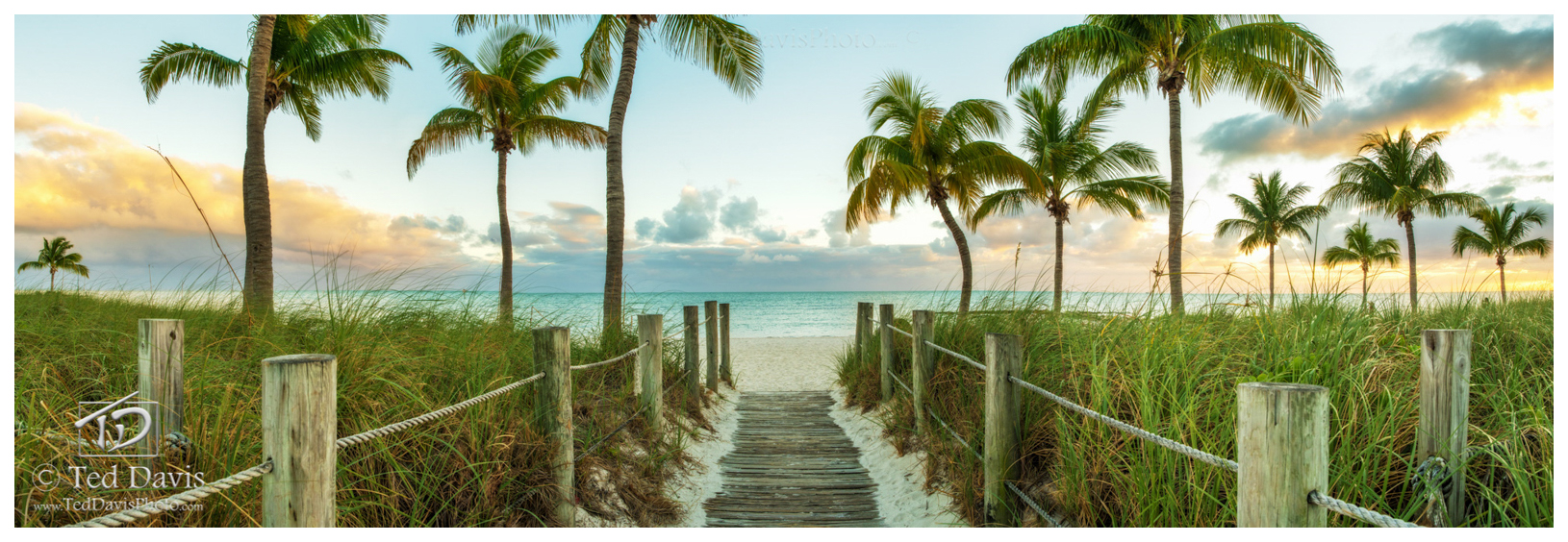boardwalk, beach, key west, solace, clouds, horizon, bright, greens, beautiful, coastline, beauty, nature, florida, keys, glow, peak, smather's, photo
